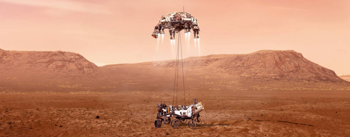 NASA's Rover is About to Land on Mars