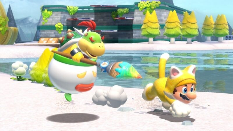 3D World + Bowser's Fury is Nintendo Switch's third-biggest Mario launch