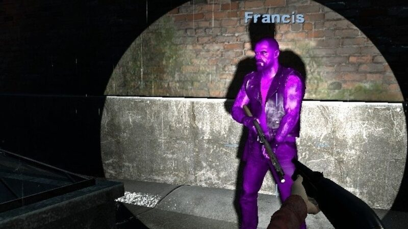 "Left 4 Dead's ""secret"" Purple Francis character goes viral"
